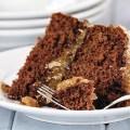 Gluten Free Dark German Chocolate Cake; Jane Bonacci, The Heritage Cook
