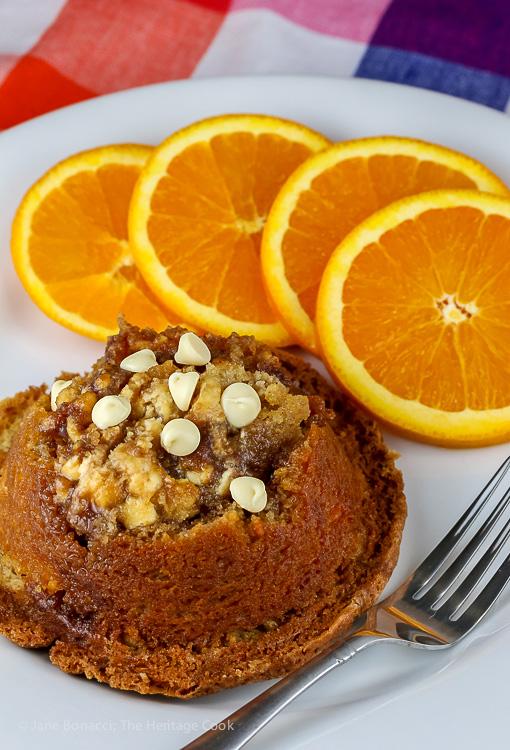 Coffee Cake Muffins © 2019 Jane Bonacci, The Heritage Cook