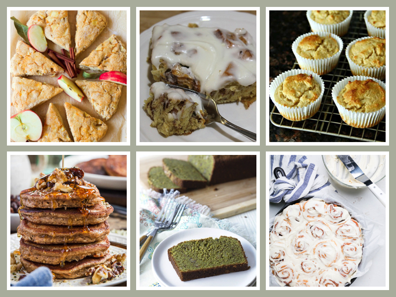 36 Mother's Day Brunch Sweet Treats compiled by Jane Bonacci, The Heritage Cook