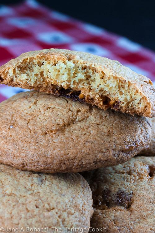 Big Fat Snicker's Cookies © 2019 Jane Bonacci, The Heritage Cook