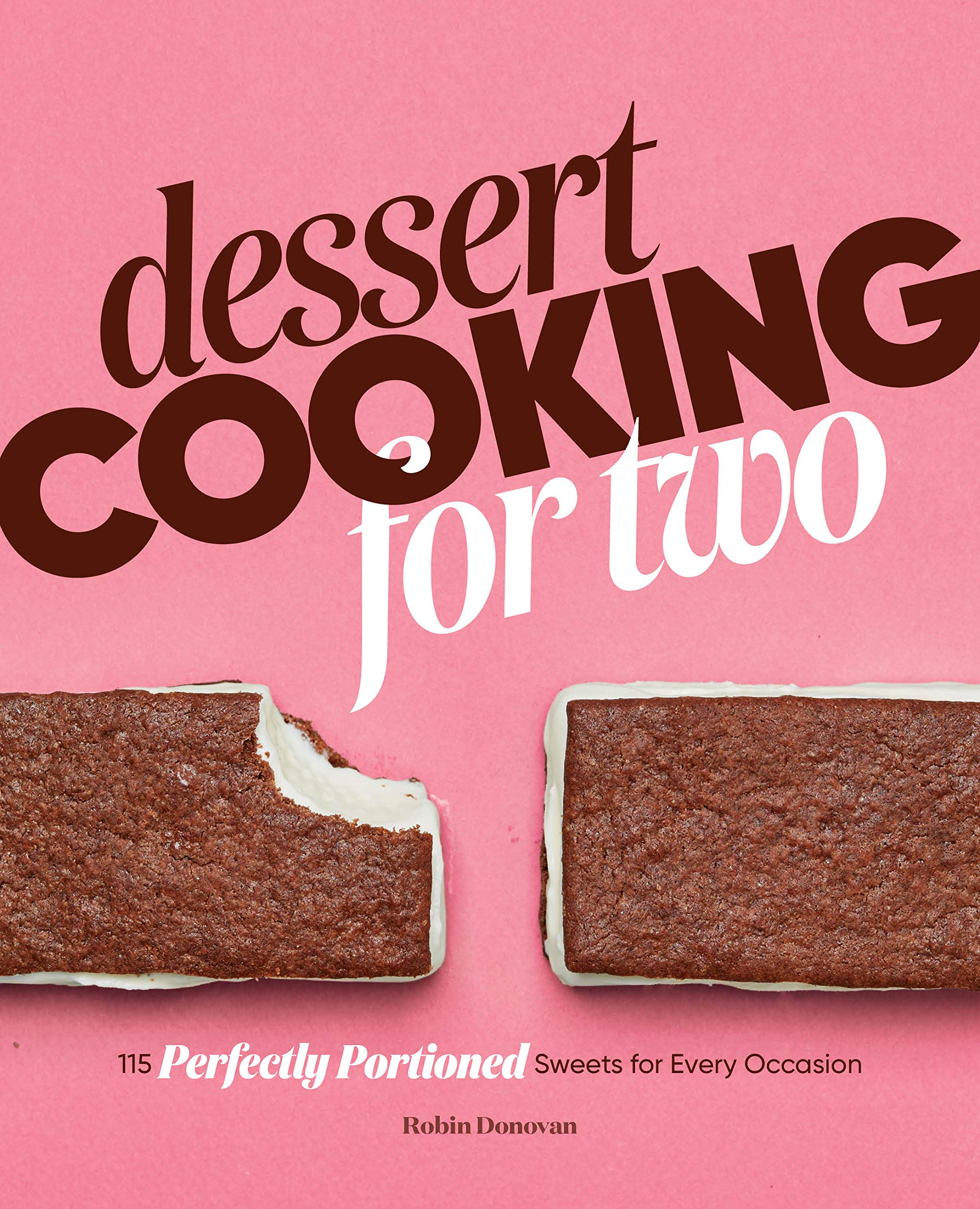 Dessert Cooking for Two cookbook cover