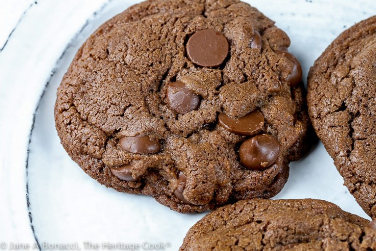 Double Chocolate Cookies for Two (Gluten Free option)