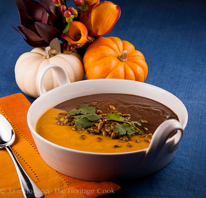 Spicy Mexican Black Bean Soup