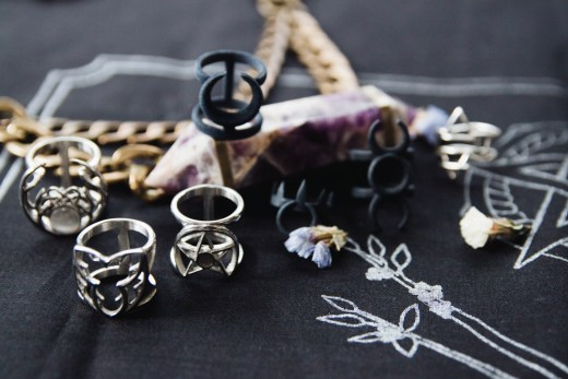 wicca and witchy jewelry brands