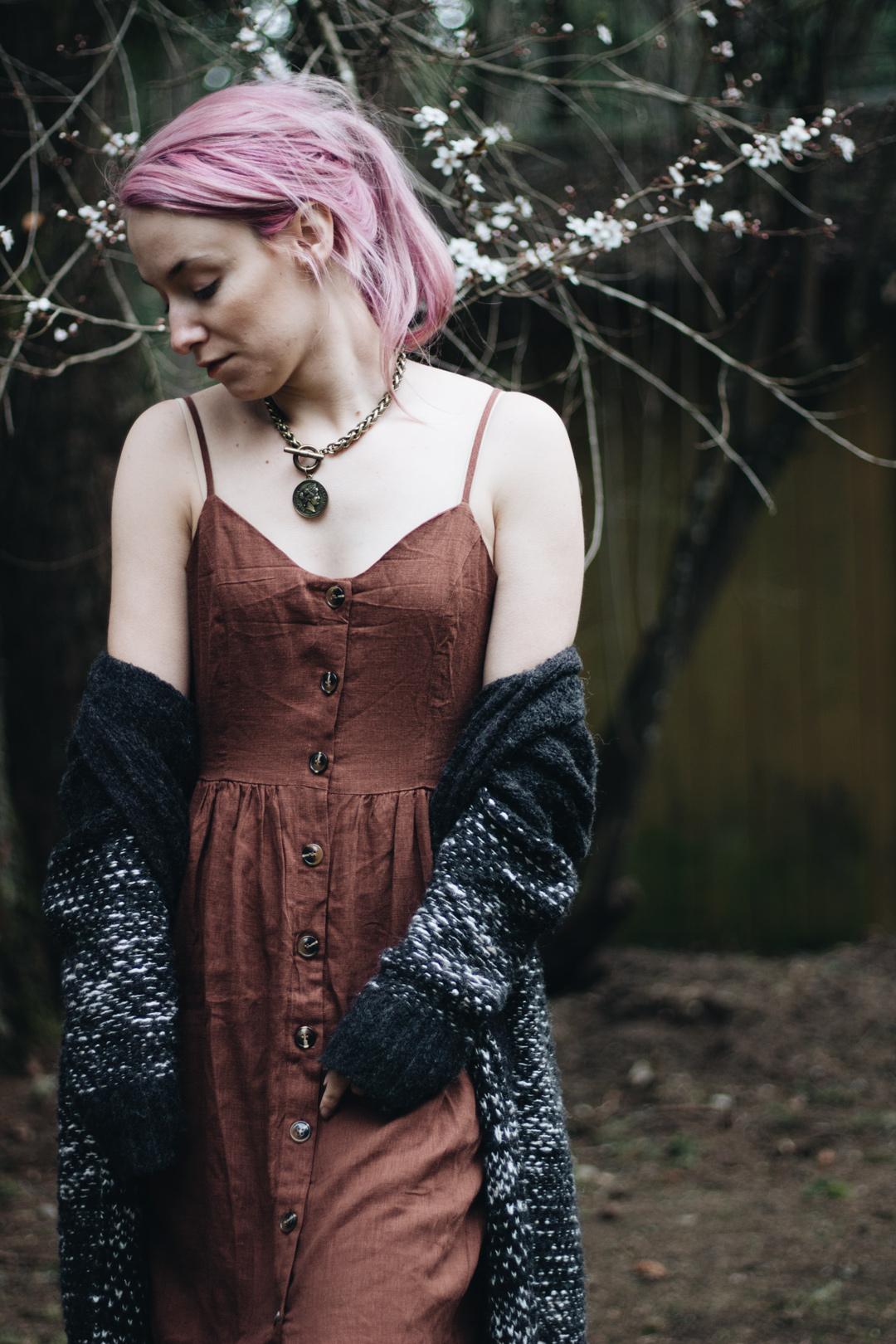 linen dress for spring