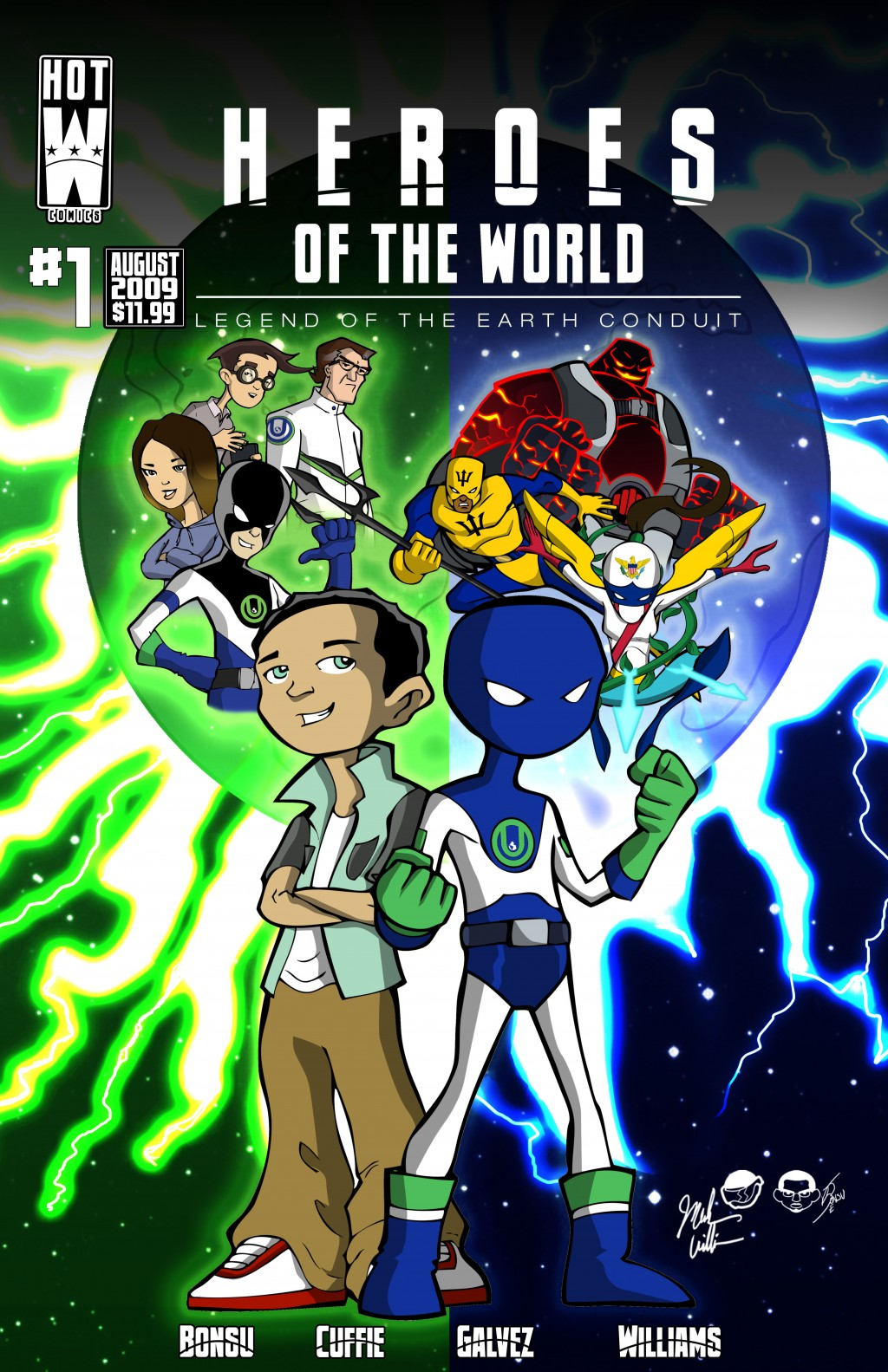 Oreh Gaia and the Heroes Of The World #1 - The World Apart
