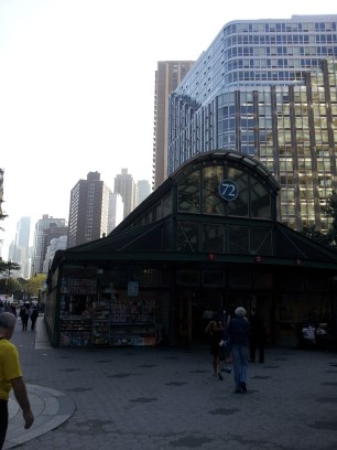 The other 72nd st entrance.