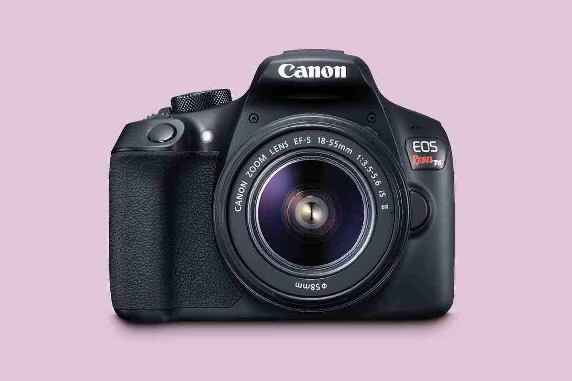 Canon EOS Rebel T6 With 18-55 mm Lens