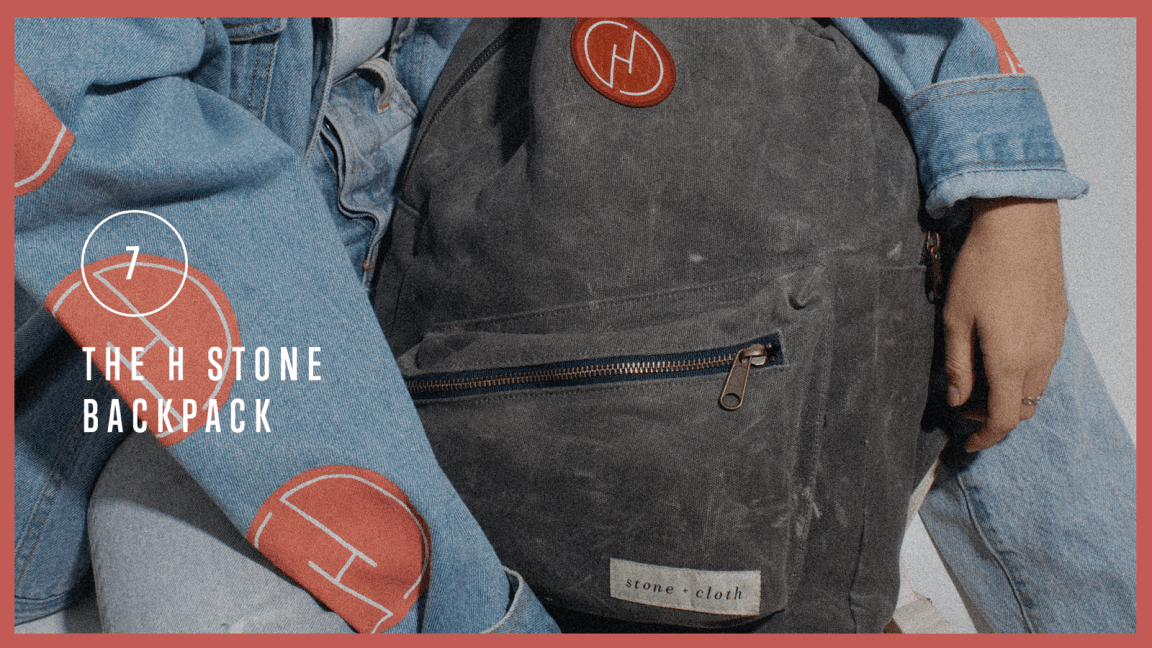 The H Stone Backpack