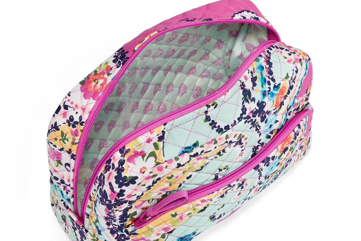 Vera Bradley Iconic Large Cosmetic Bag