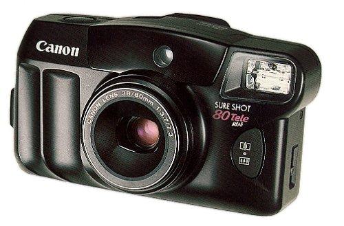 Canon Sure Shot 80 35mm Camera