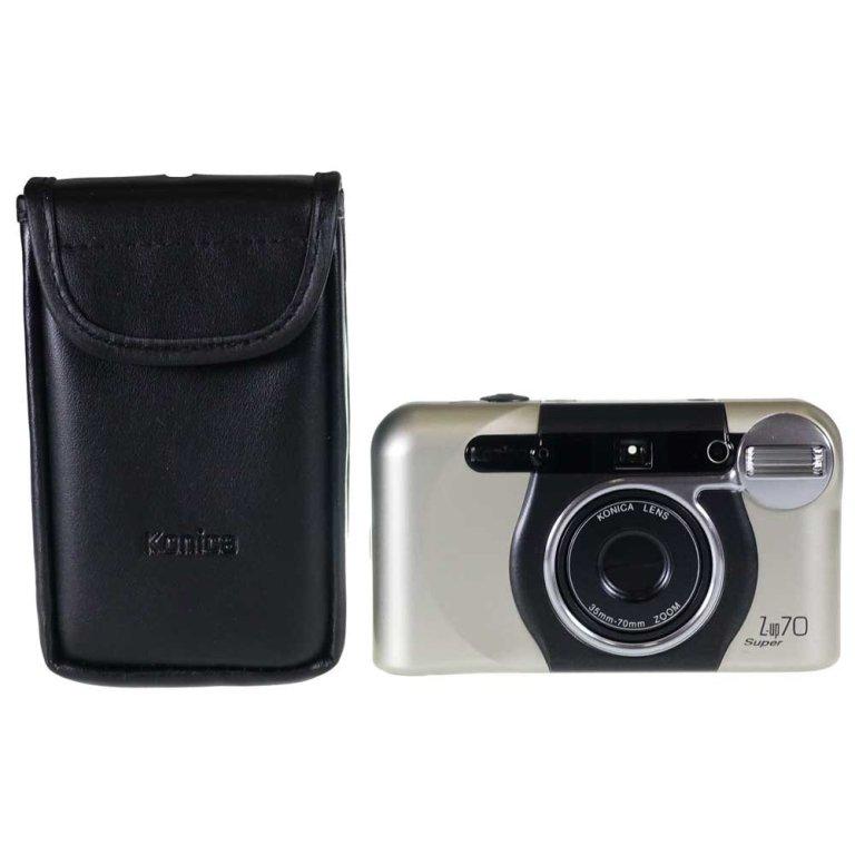 Konica Z-Up 70 Super Compact Date 35mm Film Camera