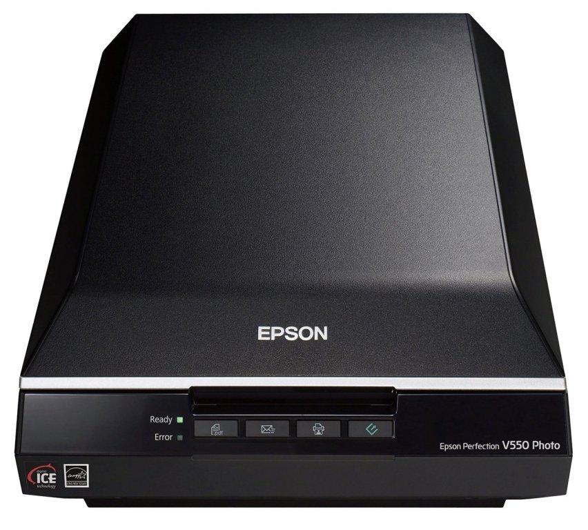 Epson Perfection V550 Color Photo, Image, Film, Negative & Document Scanner