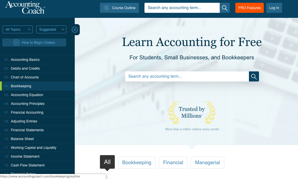 free online accounting course