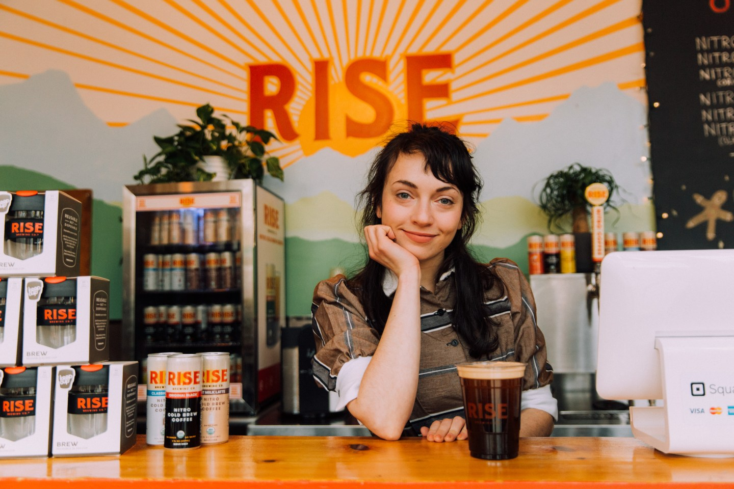 how to build a brand in 2019 girl coffee shop