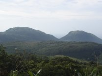 Mount Cristobal and the averse climb