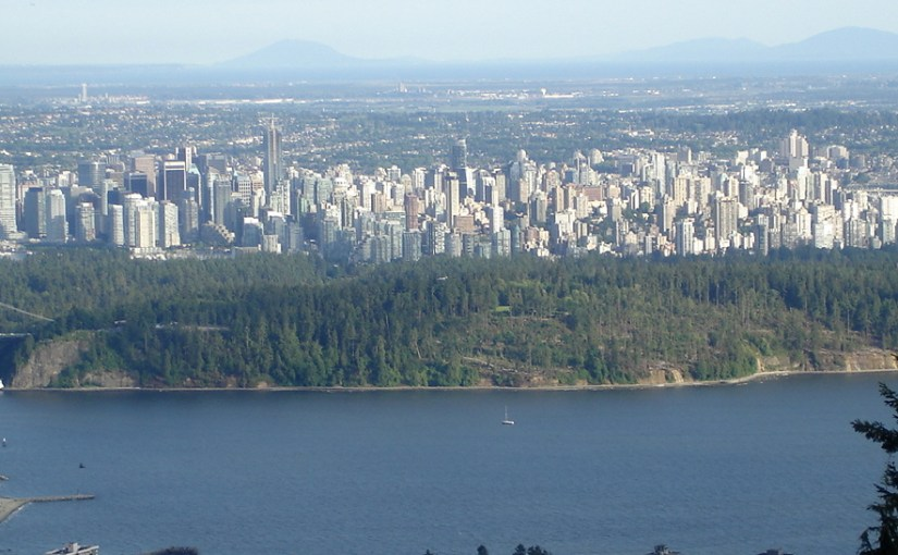 Metropolitan Vancouver From Cypress Mountain
