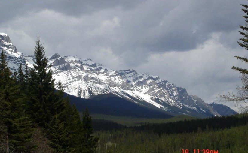 Panoramic View : Cascade Mountain