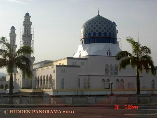 Passing Kota Kinabalu City