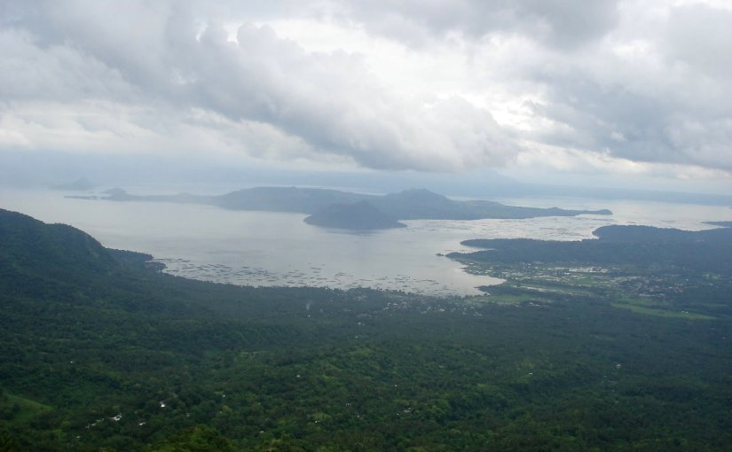 Home : Taal Lake and Taal Volcano