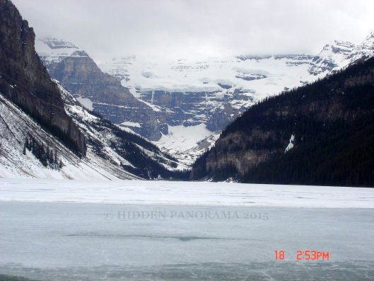Lake Louise with Victoria Glacier