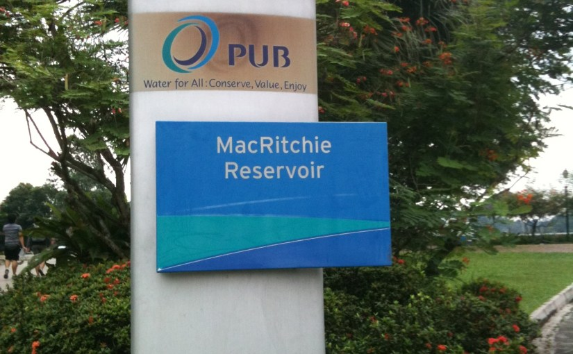 Name Of The Place : MacRitchie Reservoir