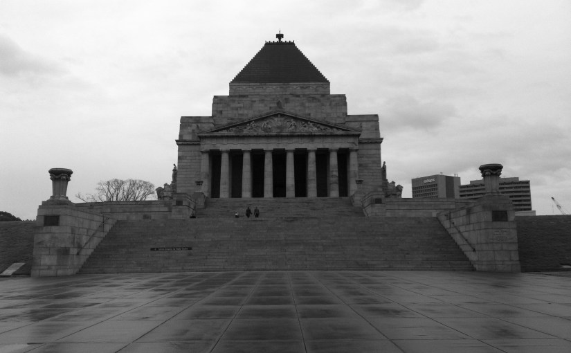 Chromatic Outlook : Shrine of Remembrance