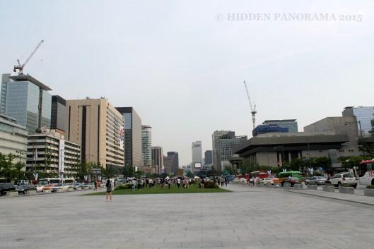 Sejong-daero Near Gyeongbokgung Palace