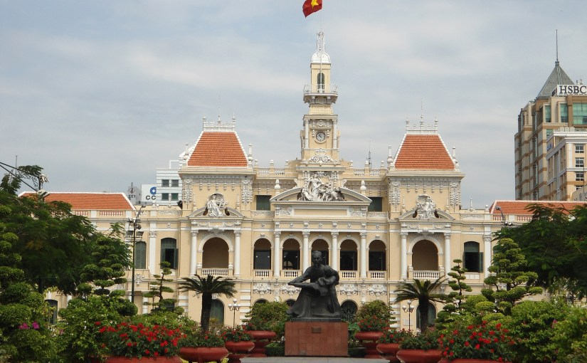 Structure : Ho Chi Minh City Hall
