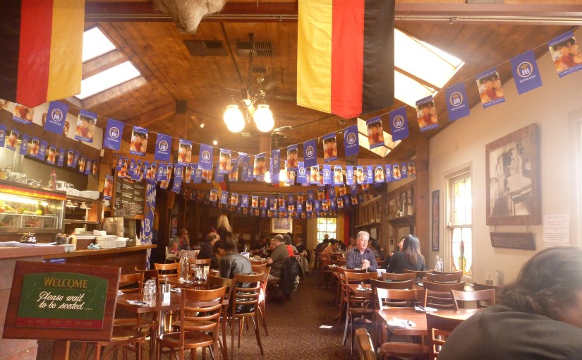 In The Middle Of Somewhere : The Hahndorf Inn