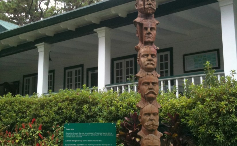 Enriching Viewpoint :  Camp John Hay – Historical Figures Totem Pole