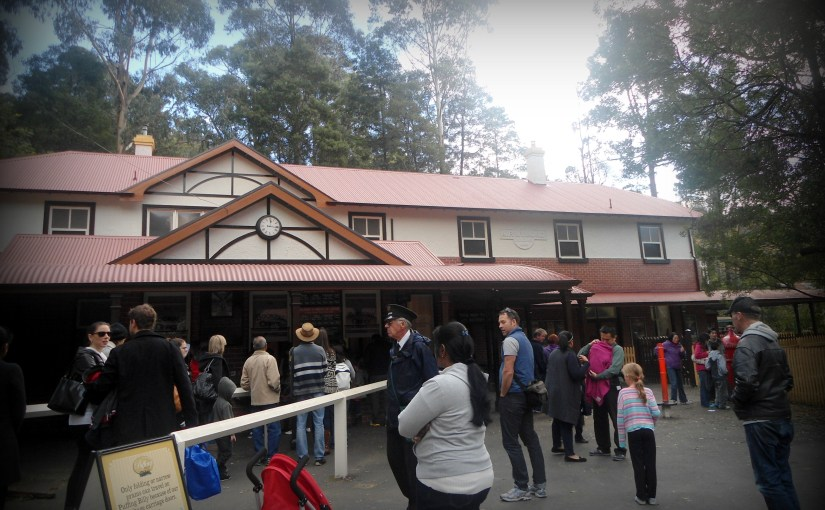 Still Expression : Puffing Billy Railway – Queuing and Waiting