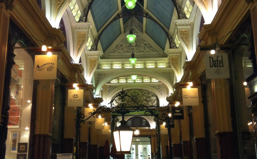Interior : The Block Arcade – Elizabeth St Interior Walkway