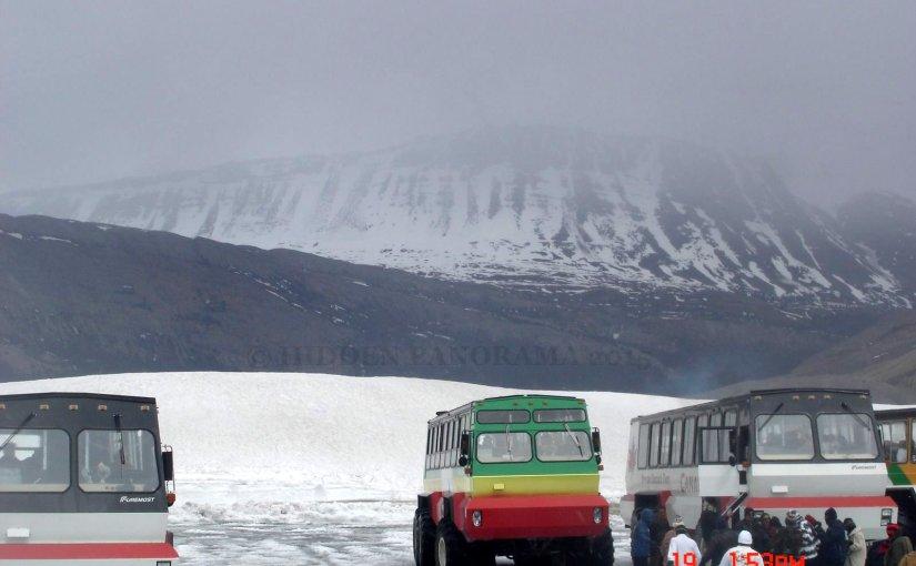 Precious Moment In The Mountain : Athabasca Glacier