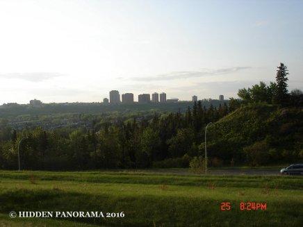 Commonwealth Stadium from Cloverdale