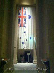 The Australian White Ensign