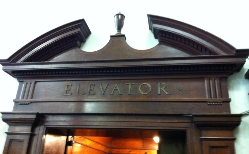 Discovery : The Athenaeum – Historic Lift