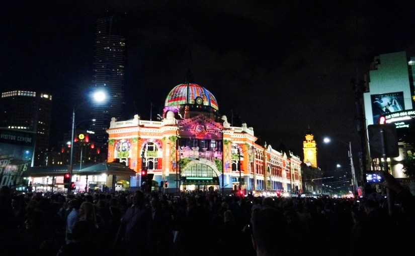White Night – A Melbourne's Dreamy Night