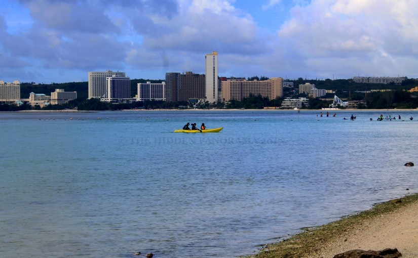Still Expression : Tumon Bay, Guam – Canoeing