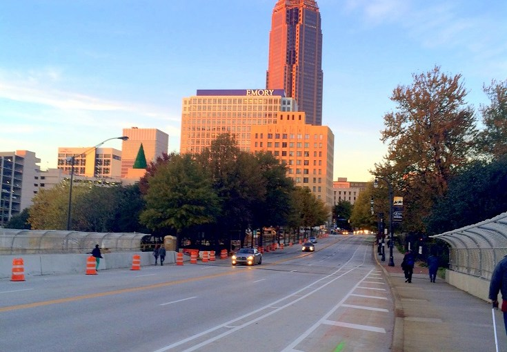 Strolling at Downtown Atlanta (Peachtree Street Northeast – Atlanta Walk Part 2)