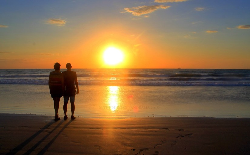 People : Couple and Sunset – Perfect !!!