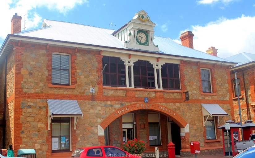 Structure : York Post Office – Oldest Surviving Post & Telegraph Building in Western Australia