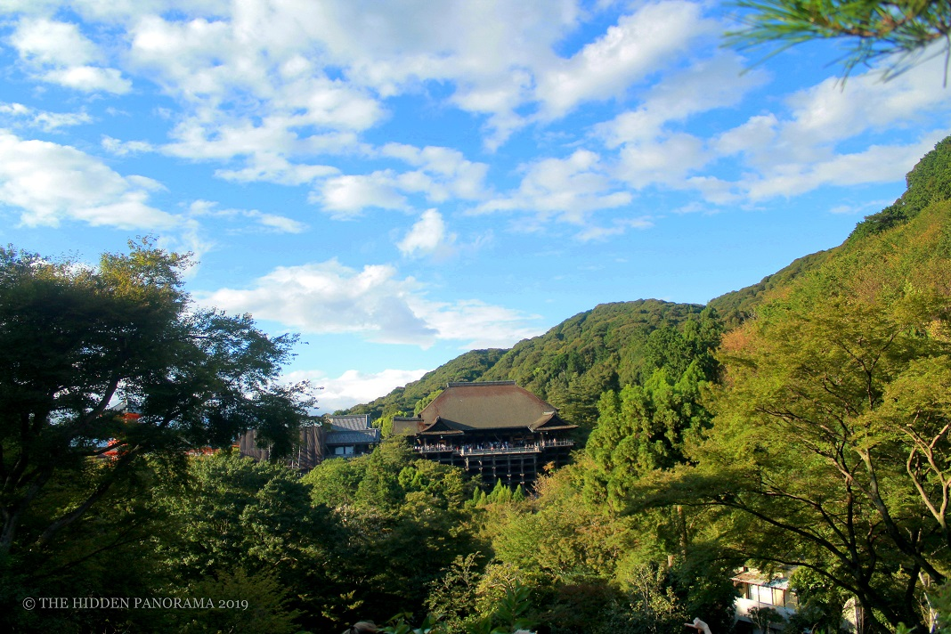 View At My Window : Kiyomizu-dera Hondo (Main Hall)