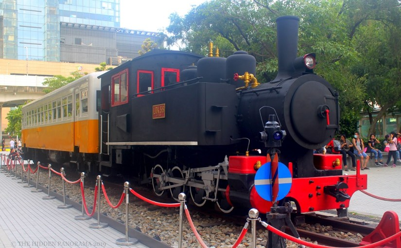 Transportation : Taiwan Railway LDK58 Steam Train