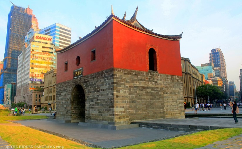 Structure : Taipei City Gate – The North Gate (Chengenmen)