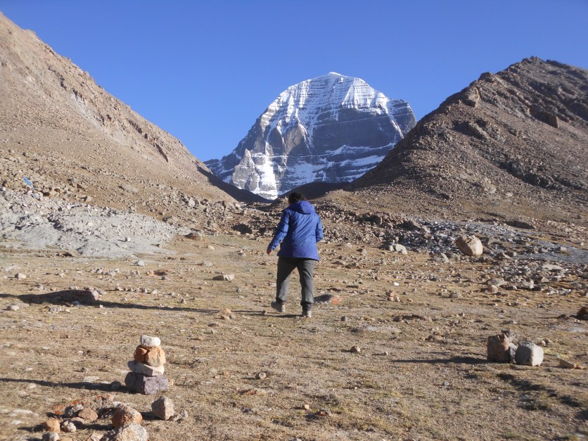 Going closer towards Mount Kailash North face during Kailash Mansarovar Yatra