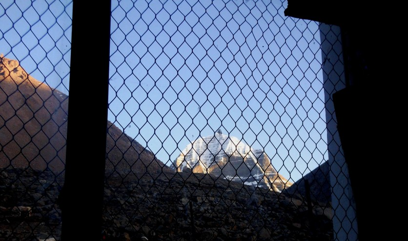 Kailash view from Room
