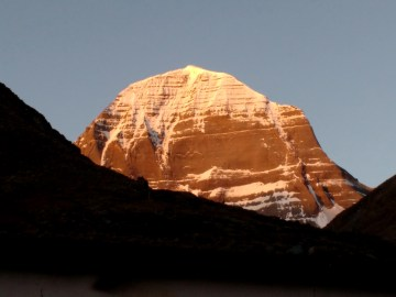 Kailash in Morning