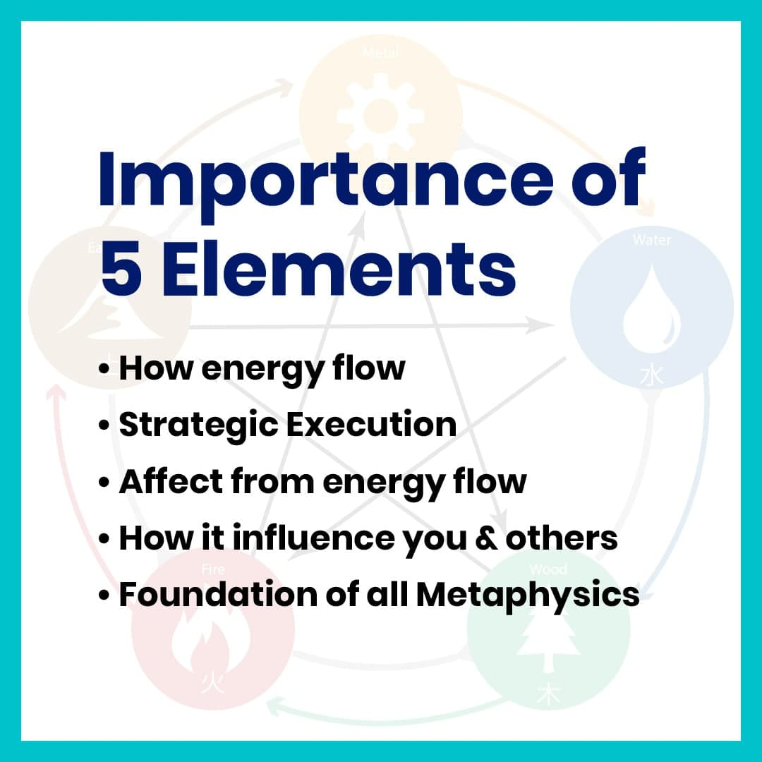 MASTER THE 5 ELEMENTS
