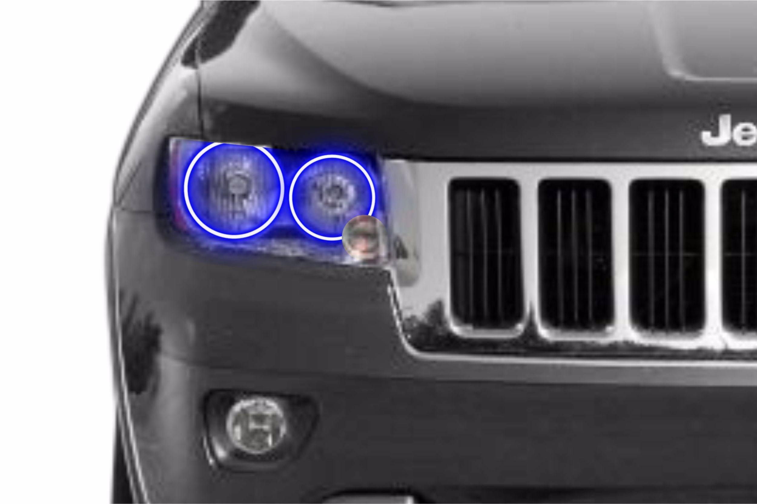 Jeep Grand Cherokee (11-13): Profile Prism Fitted Halos